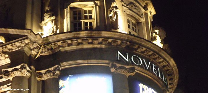 Novello theatre london get all official info and latest for Balcony novello theatre